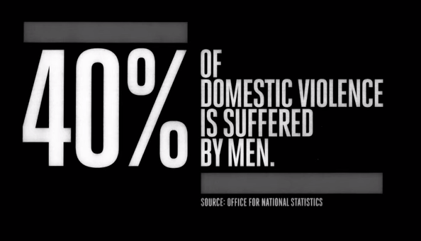 El 40% de la violencia doméstica la sufren los hombres