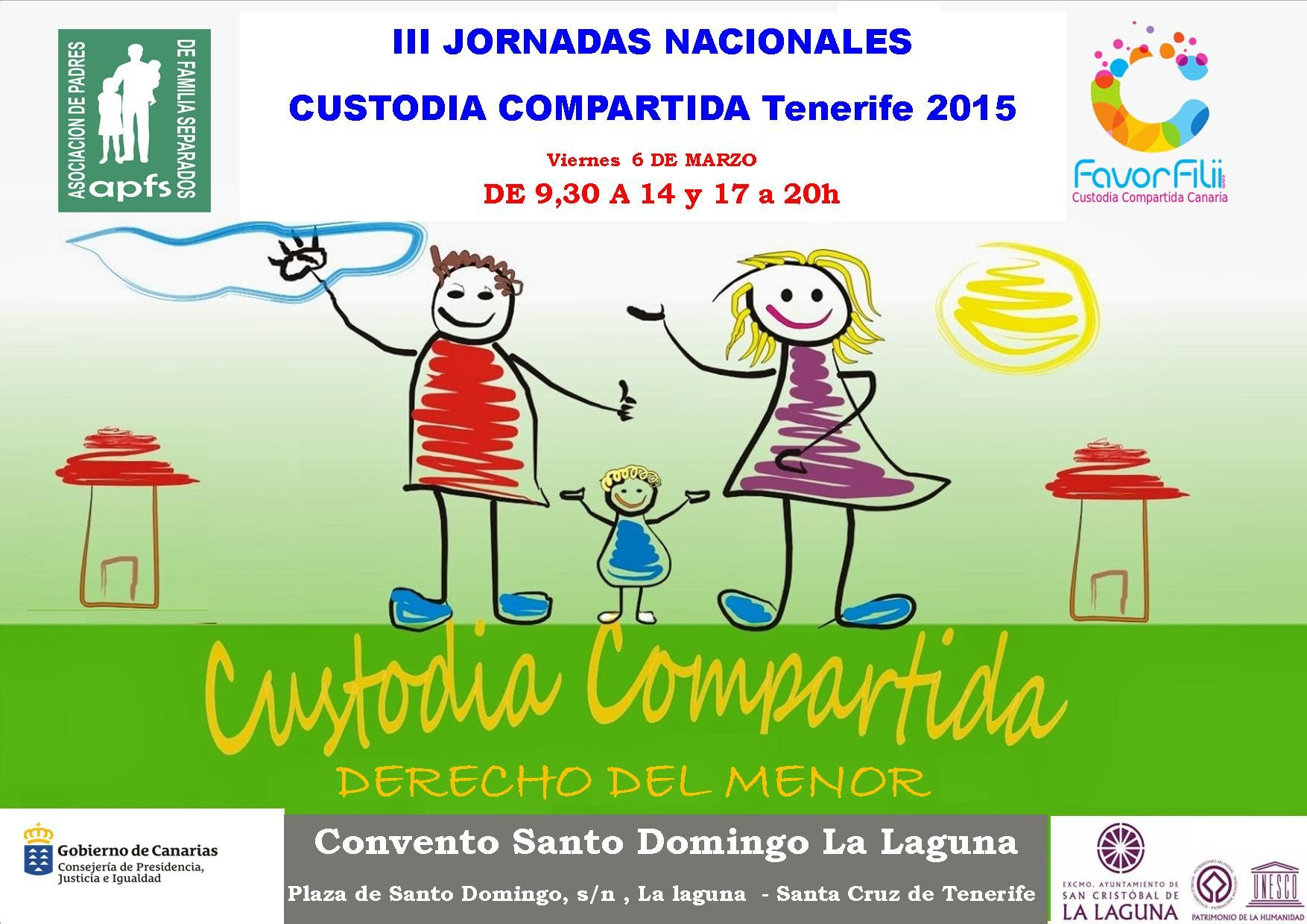 III JORNADAS CUSTODIA COMPARTIDA